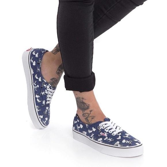 vans x peanuts authentic schoenen